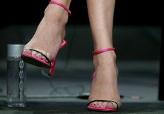 Diane Kruger (shoe detail) speaks onstage at 'The Bridge' panel during the FX Networks portion of the 2014 Summer Television Critics Association at The Beverly Hilton Hotel on July 21, 2014 in Beverly Hills, California.