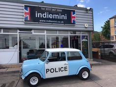 AUTHENTIC MINI POLICE CAR CAME TO VISIT TODAY!  #minicarsbristol