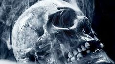dark skull horror scary creepy spooky occult bone mist death reaper room home wall modern art decor wood frame poster Skull Pictures, Dark Pictures, Dark Images, House Of Pain, 1440x2560 Wallpaper, 480x800 Wallpaper, Wallpaper Maker, Wallpaper Pictures, Black Wallpaper