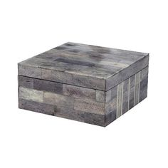Lazy Susan Square Decorative Box ($72) ❤ liked on Polyvore featuring home, home decor, small item storage, decorative box, decorative boxes and baskets, home décor, handmade boxes, colored boxes, square box and handmade home decor