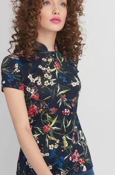 Tričko v orientálním stylu