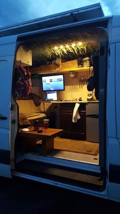 van to camper conversion