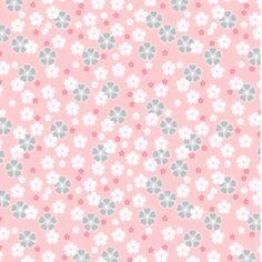 Coton Jersey Tissu Quality textiles 150 cm noir//vieux rose Flamants
