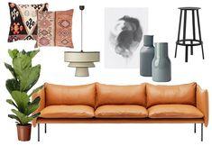 Bli med hjem til Cathrine Hammel! Outdoor Sofa, Outdoor Furniture, Outdoor Decor, Couch, Living Room, Design, Home Decor, Interiors, Photo Art