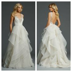 Alvina Valenta | Wedding Dress | Beautiful Ruffles