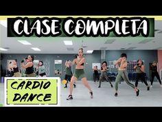 CARDIO DANCE   CLASE COMPLETA PARA BAJAR DE PESO Y TONIFICAR.. - YouTube Workout Motivation Music, Fitness Motivation, Fitness Tips, Health Fitness, Hiit, Youtube Workout, Workout Tips, Workouts, Cardio Dance