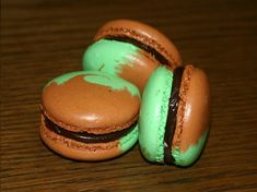 macarons inratables façon after eight