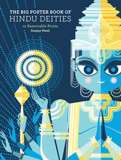 Fascinated by the hindu dieties and just discovered these fun, graphic illustrations.