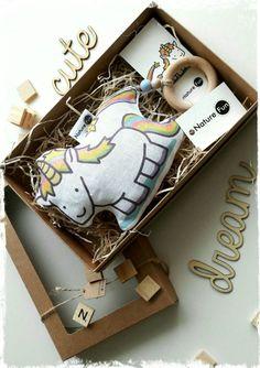 Einhorn Baby Spielzeug, Eco freundliche Spielzeug, Babyshower Geschenk, Baby Geschenk
