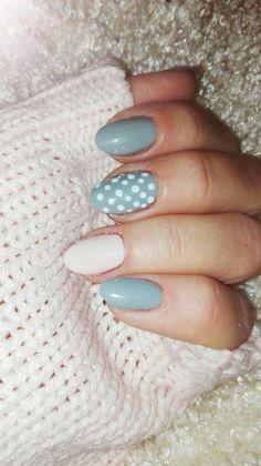 Powder pink and polka dots