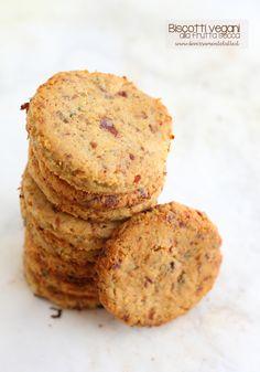 biscotti vegani frutta secca #senzalattosio #senzaglutine #senzauova #senzazucchero