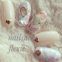 The Most Popular Nail Shapes – NaiLovely Crazy Nail Art, Crazy Nails, Love Nails, Pretty Nails, My Nails, Kawaii Nail Art, Mandala Nails, Happy Nails, Japanese Nail Art