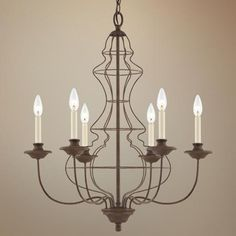 Quoizel Laila Rustic Antique Bronze Chandelier- Dream Chandelier for my dining room Outdoor Chandelier, Bronze Chandelier, Chandelier Lighting, Chandeliers, Lighting Sale, Home Lighting, All Of The Lights, Dining Room Inspiration, Candle Sconces