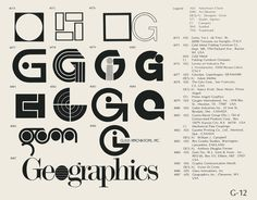 Eric Carl Collection of vintage logos from a edition of the book World of Logotypes jpg Logos Typography Logo, Logo Branding, Lettering, G Logo Design, Logo Search, Interior Logo, Logo Shapes, Clever Logo, Bussiness Card