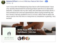 Thank you so much for taking the time to review our gorgeous Rebalancing Serum Melanie Clifford... So happy to hear you love the products and your skin is radiant! 💚🌿