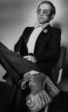 Elton John..love the boots