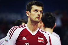 Michał Winiarski - Polish volleyball player Volleyball Players, Adidas Jacket, Athletic, Guys, People, Sports, Jackets, Men, Wattpad