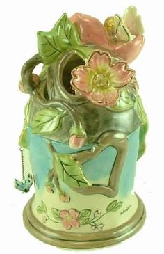 Dogwood Blossoms fairy Fragrance oil Lamp House with extras