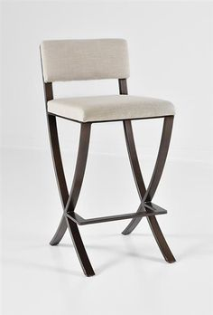 "Naples Barstool 30"" by Charleston Forge.  Made in USA.  Made in Boone, North Carolina.  Beautiful Kitchen."