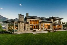 Luxury homes The most amazing luxury homes ever: brilliant architecture and brilliant interior design project Garden Architecture, Residential Architecture, Modern Architecture, Modern House Plans, Modern House Design, Luxury House Plans, Architectural Design House Plans, Dream House Exterior, Dream Home Design
