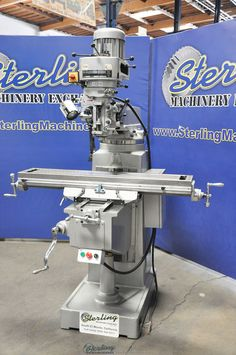 "10"" x 50"" Used Jinpu Vertical Turret Milling Machine, Mdl. CDM3-S WARRANTY 