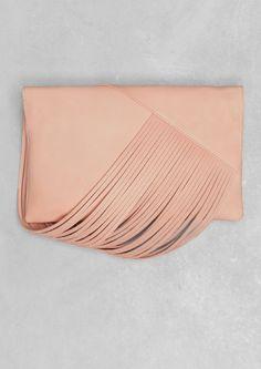Draped leather shoulder bag | Draped leather shoulder bag | & Other Stories