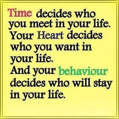 The Time, Heart, Behavior Affect