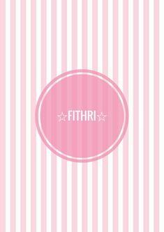 ☆FITHRI☆