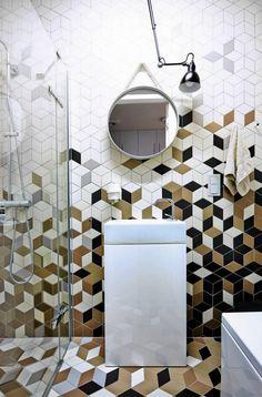 Zdjęcie numer 13 w galerii - Jak ułożyć płytki w łazience? Aranżacja łazienki bez nudy
