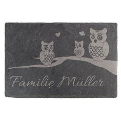 Emaille-Namensschild-170 x 100 mm-Schild-Email-Türschild-Klingel-Hausnummer