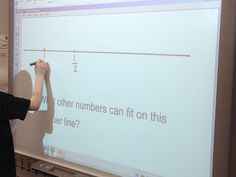 Fractions Day 11--trying something new with number lines!  Stop by and check it out!