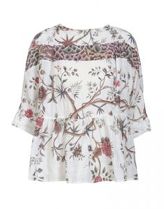 "JOSTLE: Bluse mit Druckmuster ""Fleur Indienne"" - HIGH by Claire Campbell"