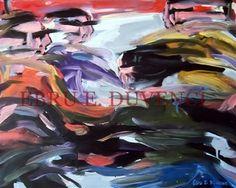 "Saatchi Online Artist Ebru E Duvenci; Painting, ""untitled, 2004, oil on canvas, 40x50cm"" #art"