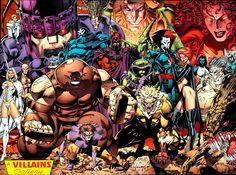 The X-Men villians by Jim Lee