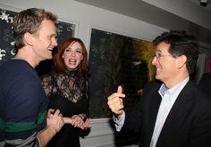 Neil Patrick Harris, Christina Hendricks, and Stephen Colbert: | The 45 Most Legendary Pictures EverTaken
