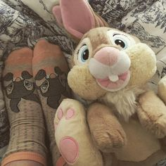Miss Bunny and Thumper Disney socks from Primark <3