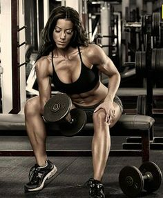 Female Fitness and Bodybuilding Beauties