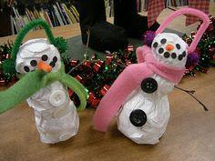 Artolazzi: Papier Mache Snowmen