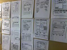 Wireframe Brainstorming