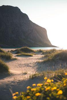 Norwegian Beach Walk