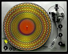 PSYCHEDELIC TURNTABLE