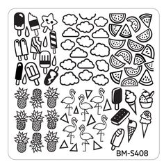 Image result for Maniology BM-S408 stamping plate