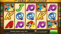 Play free #QuestForGold slots machine game online if you want to #enjoy a title that can make any #gambler feel like a treasure seeker. It will give you a chance to search for adventures and treasures on a deserted island that is full of #mysteries.