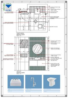 blog de decoração - Arquitrecos: Apresentação de Projeto - Detalhamento de Banheiro