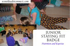Staying Fit Badge | Girl Scout Leader Connect