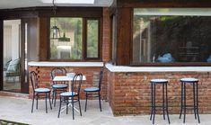 Contemporary Outdoor Furniture, Outdoor Furniture Design, Galvanized Steel, Outdoor Spaces, Indoor, Collection, Outdoor Living Spaces, Interior, Modern Outdoor Furniture