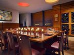 Private dining room at Stetson's Chop House.