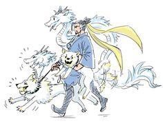 "Hoshizora on Twitter: ""Hanzo casually walking his ults https://t.co/YfK6O5X1wD"""