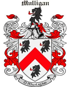 Sweeney coat of arms my style pinterest arms and symbols the mulligan family crest motto history and county origins thecheapjerseys Gallery