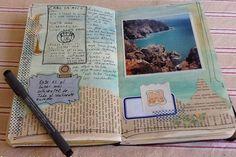 ideas para cuaderno de viaje                                                                                                                                                                                 Más